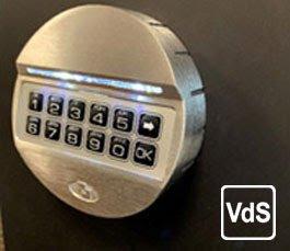 Lighted pulse keypad